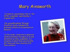 Attachment Theory - How childhood attachments influence adult relationships - John Bowlby - YouTube (not watched yet) Learn C, Attachment Theory, Child Development, Early Childhood, Counseling, Behavior, Relationships, Study, Children
