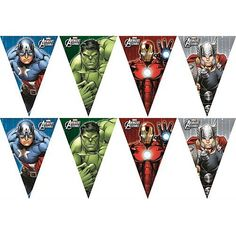 metre marvel avengers bunting / banner / birthday party decoration - Visit to grab an amazing super hero shirt now on sale! 5th Birthday Party Ideas, Man Birthday, Birthday Party Decorations, Hulk Party, Superhero Party, Flag Banners, Bunting Banner, Marvel Avengers, Avengers Party Decorations