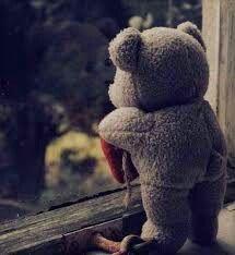 Teddy Bear at Window Cute Bear, Cute Teddy Bears, Photo Ours, Teddy Bear Quotes, Teady Bear, We Heart It Images, Giant Teddy Bear, Teddy Bear Pictures, Bear Wallpaper
