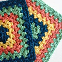 Making these big granny squares to connect all together for a blanket! The last blanket I did was a little girly so I tried to stick to boy colors this time around!  #crochet #crochetaddict #crochetlove #crocheting #crochetblanket #instagram #instalike #instaetsy #instacool #instamood #insta #color #colorful #colors #blue #green #yellow #coral #granny #yarn #yarnaddict