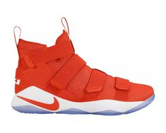 d0aaa7cc751c MENS NIKE LEBRON SOLDIER XI 11 PROMO ORANGE CASUAL SNEAKERS SHOES 943155  12.5  Nike  BasketballShoes