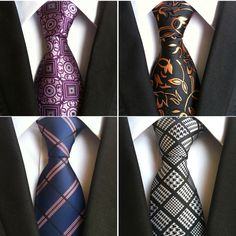 MSA Signature Silk Mens Ties New Design Neck Ties Plaid&Striped Ties for Men Formal Wear Business Wedding Party Gravatas Men Formal, Formal Wear, Mens Silk Ties, Plaid, Tie And Pocket Square, Pocket Squares, Well Dressed Men, Adulting, Mens Fashion