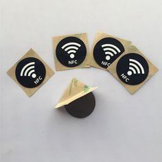 Soft NFC Sticker : Dia30mm Anti-Metal Ntag215 NFC Sticker