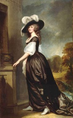 1788-1792 Charlotte, Lady Milnes by George Romney (The Frick Collection, New York City) | Grand Ladies | gogm