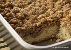 This tastes EXACTLY like the well known Entenmann's Crumb Cake!  Can't find it here in TX, but this is just as good, if not better! Nothing ...