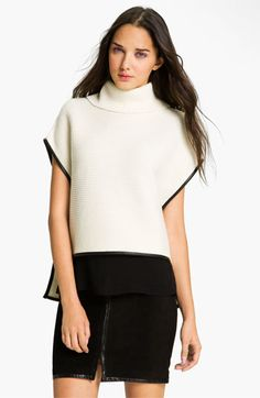 Smooth & Sculptural shapes = trend. Robert Rodriguez Turtleneck Sweater = #Nordstrom Blog Editor's Picks