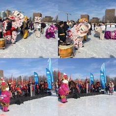 #latergram from the Ottawa Ice Dragon Boat Festival's opening ceremony.