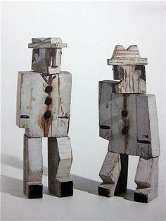 Two men (1929) Joaquin Torres Garcia