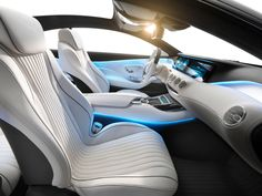 Mercedes-Benz Concept S-Class Coupe - Interior - Car Body Design
