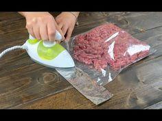 Passa il ferro da stiro sulla busta per alimenti: il trucco utile in cucina