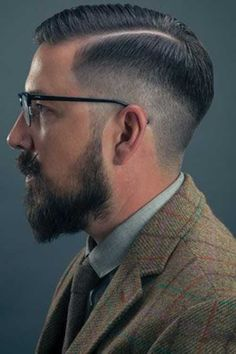 Mens Faded Style Hair