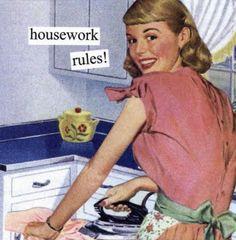 Housework rules!