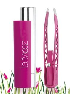Beauty Tip on Tweezers + Light = La - tweez! by Saje Sandhu. Check out more Hair on Bellashoot. Magnifying Mirror, Retail Box, Makeup Junkie, Makeup Cosmetics, Voss Bottle, Makeup Tips, Eyebrows, Swarovski Crystals, Beauty Hacks