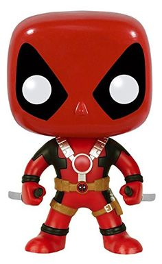 From the Marvel Universe Two Swords Deadpool as a stylized POP vinyl from Funko! Figure stands 3 3/4 inches and comes in a window display box. Check out the other Deadpool figures from Funko! Collec...