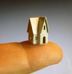 Karin Corbin Miniatures: New tiny glitter houses!