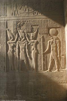 Relief of Haroeris Kom Ombo  Egipt