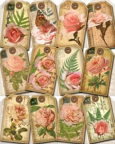 Victorian Tags