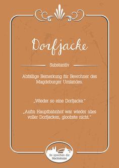 Dorfjacke #Magdeburg