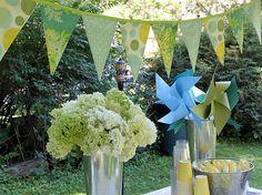 Love this color scheme for a garden party
