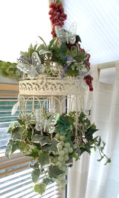 Decorated Birdcage...