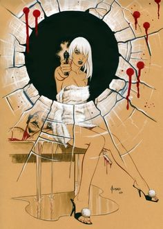 Megan from 100 Bullets by Joe Jusko