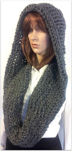 Free Crochet Pattern For Infinity Scarf With Hood : Meer dan 1000 idee?n over Crochet Hooded Scarf op ...