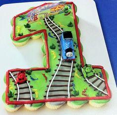 1st Birthday Thomas The Tank Engine