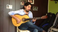 Antonio Rey Plays Flamenco Guitar Lester Devoe 2000 in La Guitarra Flamenca