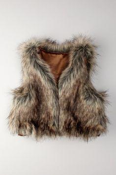 Faux Fur Vest #HLheartskids