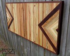 Rustic Wall Art, Reclaimed Wood Furniture, Folk Art, Rustic Home Decor,Chevron Wall Piece,Reclaimed Wood Nightstand,Reclaimed Wood Table Top