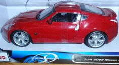 Maisto 2009 Nissan 370Z Red Coupe 1:24 Scale Diecast Metal with Plastic Parts by Maisto. $25.00. Cars, Collectible, Model, Toy, Maisto