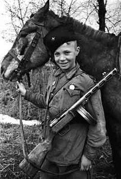 Russian Boy Partisan - WWII