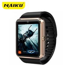 8e25fb5e8a3 NAIKU GT08 Smart Watch Clock Bluetooth Support Sim Card Sync Notifier  Connectivity For apple android phone