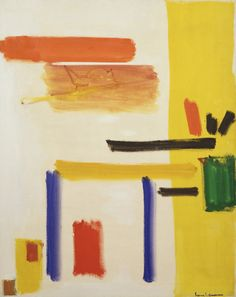 Hans Hofmann - Yellow Hymn. Hans Hofmann (March 21, 1880 – February 17, 1966) was a German-born American abstract expressionist painter.