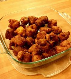 La fantasia in cucina: frittelle alle mele