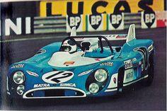 1972 Matra MS 670 Simca (2.993 cc.) Jean-Pierre Beltoise Chris Amon Le Mans, Sports Car Racing, Race Cars, Auto Racing, Alpine Renault, Matra, Vintage Racing, Vintage Auto, Grand Prix