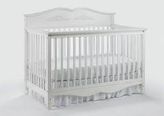Graco Victoria Non Drop Side 5 In 1 Convertible Crib, White |   Sturdy, safe, and pretty?  Sounds perfect!