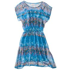 Mossimo Supply Co. Mossimo Supply Co, Teal, Short Sleeve Dresses, Summer Dresses, Clothes For Women, My Style, Floral, Casual, Outfits