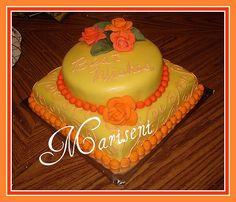 Bridal Shower by Slice of Sweet Art - Custom Cakes, via Flickr