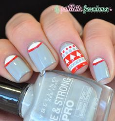 La paillette frondeuse: Christmas #nail #nails #nailart