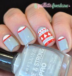 La paillette frondeuse: Christmas #nail #nails #nailart