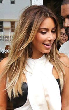 bronde (brown/blonde) hair