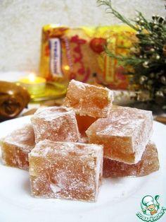 Пряный рахат-лукум с орехами - кулинарный рецепт