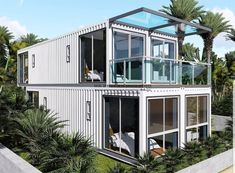 China Neazealand Standard Luxury Modular Prefabricated Container House, Find details about China Prefabricated House, Modular House from Neazealand Standard Luxury Modular Prefabricated Container House - Jiangxi HK Prefab Building Co. Container Home Designs, Container Shop, Storage Container Homes, Prefab Buildings, Prefabricated Houses, Prefab Homes, Shipping Container Buildings, Shipping Container Homes, Shipping Containers