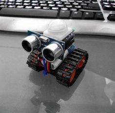 Arduino robot mit Ultraschall sensor More