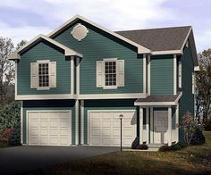 See the Amari Cozy Garage Apartment that has 1 bedroom and 1 full bath from House Plans and More. See amenities for Plan Garage Apartment Floor Plans, Garage Apartments, Tiny Apartments, House Plans And More, Small House Plans, Plan Garage, Garage Ideas, Carriage House Plans, Modern Garage
