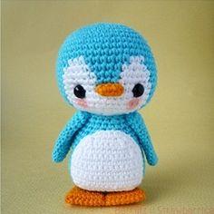 Pen-Pen the Penguin amigurumi crochet pattern by Berriiiz