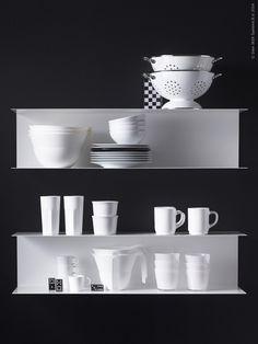 Botkyrka shelves - IKEA .. Nice!