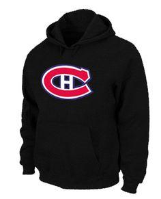 NHL Montreal Canadiens Big & Tall Logo Pullover Hoodie - Black