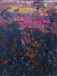 Autor...  Luis Mourenza Rey Técnica...  Acrílico sobre lienzo 40x50 cm Título... Anochecer